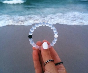 beach, bracelet, and lokai image