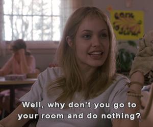 subtitles, Angelina Jolie, and girl image