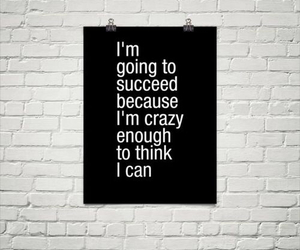 quotes, crazy, and succeed image