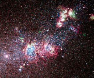 space, nebula, and stars image