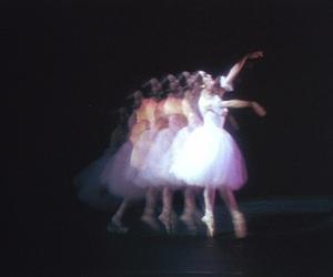 ballerina, dance, and girl image