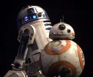 bb-8, r2d2, and star wars image