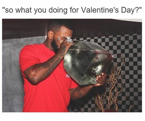 me, vodka, and Valentine's Day image