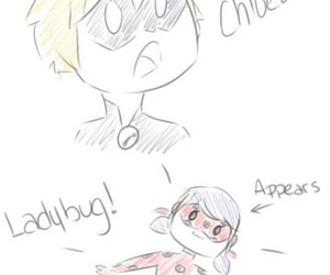 Adrien, Chat Noir, and chloe image