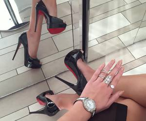 fashion, glam, and shoes image