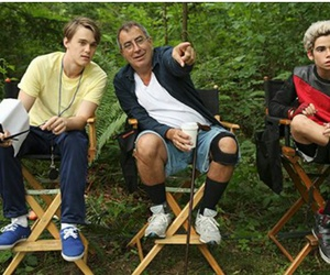 kenny ortega, mitchell hope, and cameron boyce image