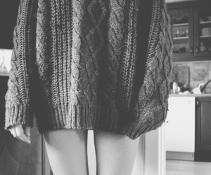 black and white, girl, and legs image