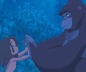 tarzan, disney, and mother image