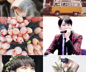 pastel, my edit, and b.a.p image