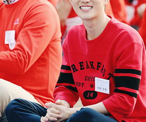 exo, smile, and suho image