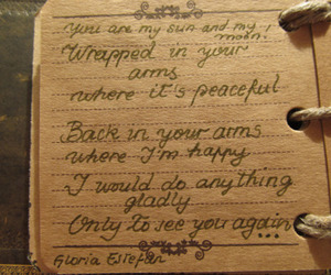 i miss you, quote, and vintage image
