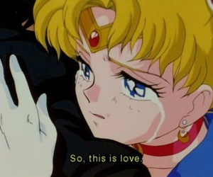 anime, sailor scouts, and anime couple image
