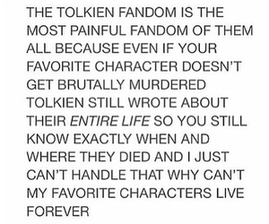 fandom, lord of the rings, and tolkien image