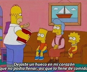 food, homer, and frases image