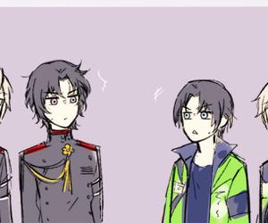 anime, prince of stride, and owari no seraph image