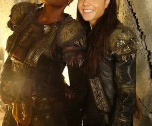 the 100, indra, and marie avgeropoulos image