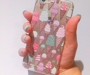 iphone, case, and cream image