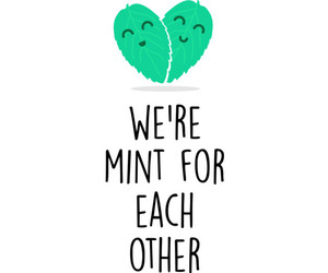 hearts, mint, and Valentine's Day image