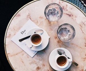 coffee, dior, and drink image