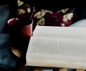 books, coffe, and color image