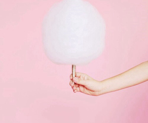 pink, cotton candy, and pastel image
