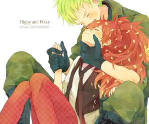 happy tree friends, flippy, and flaky image