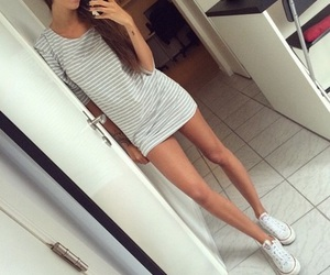 all star, body, and brunette image