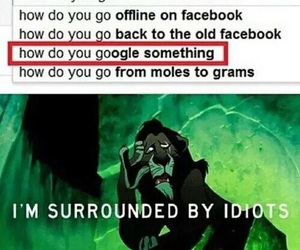 funny, google, and idiot image