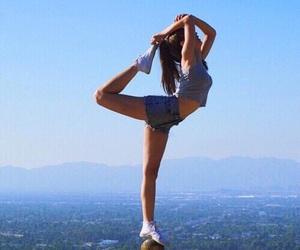 girl, fitness, and dance image
