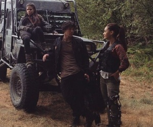 bts, bob morley, and marie avgeropoulos image