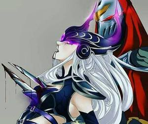 lol, zed, and league of legends image