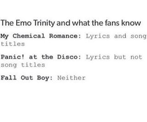 brendon urie, fall out boy, and frank iero image
