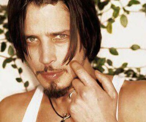 beautiful, chris cornell, and green eyes image