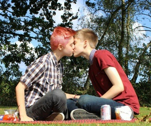 trans, lgbt, and love is love image