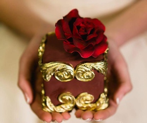 cupcake, romantic, and wedding details image