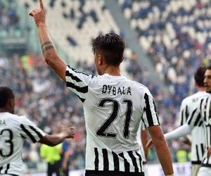 Juventus, paulo dybala, and patrice evra image