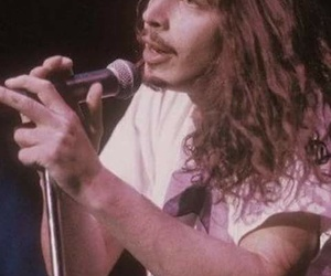 90's, chris cornell, and handsome image