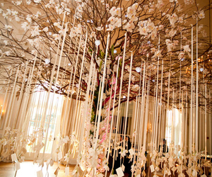 wedding, tree, and decoration image