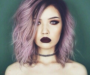 fashion, hair, and women image