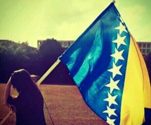 Bosnia, bosna, and flag image