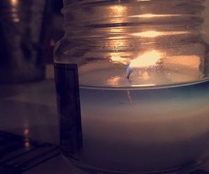 candle, chill, and evening image