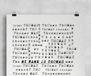 books, dylan o'brien, and thomas image
