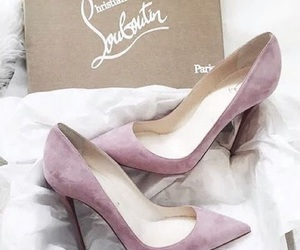 christian louboutin, high heels, and pumps image