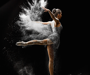 dance, ballet, and art image
