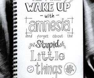5sos, amnesia, and Lyrics image