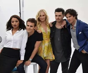 ian somerhalder, paul wesley, and candice accola image