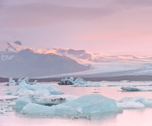 pink, ice, and pastel image