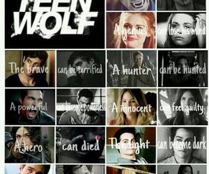teen wolf, lydia martin, and stiles stilinski image