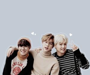bts, jin, and j-hope image