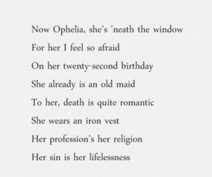 bob dylan, ophelia, and quotes image